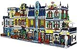 ZWWZ BAU-Set, modulare Hausbausteine, 5159pcs Architektur-Modell mit Mini-Figuren, 3D-DIY-Puzzlespiel MISU
