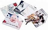 Brillenputztuch mit Foto & Text selbst gestalten und bedrucken lassen, 15x18 cm ✓ Individuelles Fotogeschenk ✓ Microfaser-Tuch   Brillentuch mit Motiv zum Reinigen & Putzen von Brillen, Displays & Objektiven   Reinigungstuch zum selbst gestalten