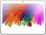 Victorist X110/3G 10 Zoll Tablet Pc - 3G - Android 5.1 Lollipop - Telefonieren - GPS - Navigation - 1GB RAM - 16GB - Kamera - Bluetooth - Laptop - Notebook, Silber/Weiß