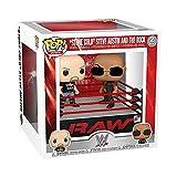 Pop! Vinyl: WWE - The Rock vs Stone Cold Steve in Wrestling Ring Actionfiguren