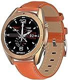 JSL Smartwatch für Damen, wasserdicht, Fitness-Tracker, austauschbares Zifferblatt, Smart-Armband für Herren, Android