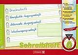 Lernheft/Schreibheft'Brunnen' Lin.0 / A5 quer