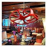 WEM Neuheit Kronleuchter, Kreative Persönlichkeit, Modern Minimalistisch Wohnzimmer Bar Tisch Kronleuchter Beleuchtung Esszimmer Kronleuchter Pendelleuchte