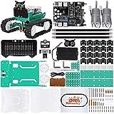 ELEGOO Owl Smart Robot Car Kit V2.0 mit Nano V4, Line Tracking Module,Infrared Photoelectric Sensor, Ultrasonic Sensor usw. Intelligentes und lehrreiches Toy Car Robotic Kit für Arduino Learner
