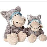 Chewynp Wolf Skin Sheep Plüsch Spielzeug Arbeitslamm Puppen Spielzeug Plüschtiere können das Geburtstagsgeschenk der Schafspelze lieben