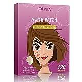 JOLVKA Akne Pickel Patch (120 Patches), Hydrocolloid Pimple Pickel pflaster (2 Sizes), Gemacht fürEinzelne Pickel