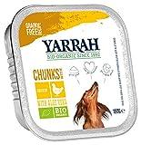Yarrah Bio Hundefutter Bröckchen Huhn, 6er Pack (6 x 150 g)