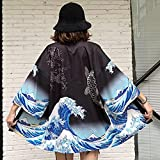 Vottle Kimono-Strickjacke, japanisches Kimono-Kleid, Haori-Obi, weibliche Kleidung, Strand, Damen, Kimono, Cosplay-Kleidung
