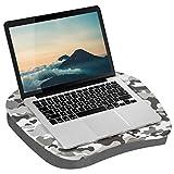 LapGear MyStyle 45325 Knietisch, für Laptops bis zu 39,6 cm (15,6 Zoll), Grau/Camouflage