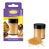Günthart Back & Decor 7g   Essbares GOLD Puder   Lebensmittelfarbpuder   Gold Glitzer