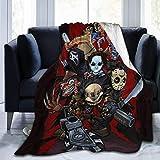 N \ A Killer Collage Flanell-Fleecedecke, leicht, superweich, warm, gemütlich, Wohnkultur für Couch, Bett, Sofa, Reisen, 203,2 cm x 60