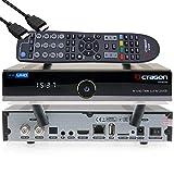 OCTAGON SF8008 4K UHD HDR Twin Sat PVR Receiver 2X DVB-S2X - E2 Linux TV Box, PVR Receiver über USB - inklusive EasyMouse HDMI-Kabel und Dual WLAN