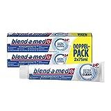 Blend-a-med Rundumschutz Extra Frisch Clean Zahnpasta (1 x 2x 75 ml)