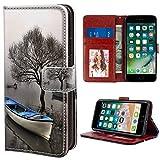 Schutzhülle für iPhone 6 Plus (2014) und iPhone 6S Plus (2015) 14 cm (5,5 Zoll) Sadf Sdf Blue Boat für Mädchen