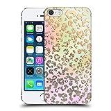 Head Case Designs Offizielle Monika Strigel Leopard Traumland Gold Harte Rueckseiten Handyhülle Hülle Huelle kompatibel mit Apple iPhone 5 / iPhone 5s / iPhone SE 2016