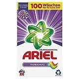 Ariel Waschmittel Pulver, Waschpulver, Color Waschmittel, 100 Waschladungen, Farbschutz (6.5 kg)