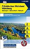 Fränkisches Weinland Würzburg Nr. 56 Outdoorkarte Deutschland 1:50 000: Kitzingen, Ochsenfurt, Volkach, free Download mit HKF Outdoor App: Mit ... (Kümmerly+Frey Outdoorkarten Deutschland)