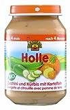 Holle Zucchini & Kürbis mit Kartoffeln, 6er Pack (6 x 190 g) - Bio