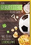 Verlag Dominique - Geburtstagskarte mit Briefumschlag - Fußball