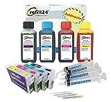 Kompatible Druckerpatronen für Ep- 603/603XL + Sublimation Tinte 400 ml