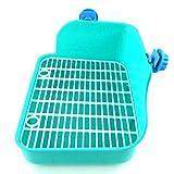 Keneke Haustier Toilette Haustier Potty Pet WC Töpfchen Kleine Haustiertoilette Ecktoilette für Nager,für Kaninchen,Katzen,Hamster,Frettchen,Kleintiere oder andere kleine T