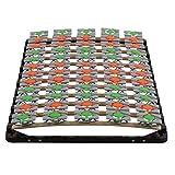 i-flair Lattenrost 80x200 cm Lattenrahmen Tellerlattenrost Flower Ergo IF57 - für alle Matratzen geeignet - alle Größen