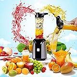 Cikonielf 200 W Standmixer für Obst und Gemüse, 600 ml, elektrische Zitruspresse 12,5 x 12,5 x 36 cm (220 V)