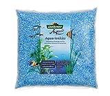 Dehner Aqua Aquarienkies, Körnung 4 - 6 mm, 5 kg, pastellblau