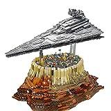 TETAKE Sternenzerstörer und Weltraum City Bausteine Modellbausatz, 5473 Klemmbausteine Kompatibel mit LG Technic Steine aus Danemark