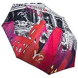 Art. Nr. 55352 Y Not? Regenschirm Taschenschirm Auf-Zu Automatik Skyline Rome Rom Italien