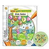 Ravensburger tiptoi ® Buch ab 4 Jahre | Erste Zahlen - Mein Lern-Spiel-Abenteuer + ABC Kinder Sticker von Collectix