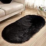ZAZN Kreativer Heimtextilien-Plüschteppich, Wohnzimmer-Sofa-Bodenmatte, Kältesichere Fußmatte, rutschfeste Matte Am Unteren Rand des Schlafzimmers