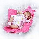 yunge Spielzeugpuppe Twins Simulation Baby Puppe Reborn Körper Silikon Vinyl 16 Zoll 40 cm Magnetische Mund Full Alive Baby Echt Bauch Kinder Spielzeug Kinder Geburtstag Geschenk Zwillinge-M