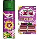 hagebauSPN 200ml SUBSTRAL® Celaflor® Schädlingsfrei CAREO für Orchideen & Zierpflanzen + 10 Stück Orchideen Düngerstäbchen