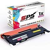 SPS CLT-M406S Toner Magenta kompatibel für Samsung 406 CLP360 CLP360 Series CLP360N CLP360ND CLP365 CLP365W CLX3300 CLX3305 CLX3305FN CLX3305FW CLX3305W Xpress C410W C460FW C460W