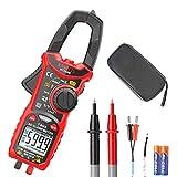 KAIWEETS HT206B Stromzange AC 600A/60A/6A, Zangenmultimeter TRMS 6000 Counts, CAT III 600 V, Tester Kapazität Temperatur (AC-Strom)