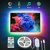 Govee LED TV Hintergrundbeleuchtung, geeignet für 46-60 Zoll Fernseher und PC, steuerbar via Fernbedienung, RGB, USB betrieb