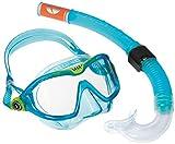 Aqua Lung Unisex Kinder Sport Schnorchel-Set mit Tauchmaske und Schnorchelrohr, Blau - Aqua, Einheitsgröße