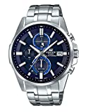 Casio Herren Chronograph Quarz Uhr mit Edelstahl Armband EFB-560SBD-2AVUER