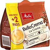 Melitta Melitta Gemahlener Röstkaffee in Kaffeepads, 10 x 16+2 Pads, 100% Arabica, Mild und Harmonisch, milder Röstgrad, Stärke 3, BellaCrema LaCrema, 1200 g