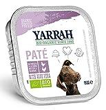Yarrah - Hundefutter Paté Huhn und Truthahn mit Aloe Vera Bio 12x150g