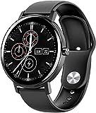 Smartwatch, High-Definition-Touchscreen, IP68, wasserdicht, Anrufer-ID-Display, Bluetooth, Musik, Schrittzähler, Anruferuhr