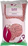 1 kg Pink Wachs Filmwachs Premium Heisswachs Waxing Perlen Wachsperlen ohne Wachsstreifen für Enthaarung, Haarentfernung Brazilian Waxing Ganzkörper Intim, Beine, Gesicht und Arme