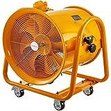 Mophorn Baulüfter 18 Zoll Axialventilator explosionsgeschütztes Axialgebläse Bauventilator 700W Windmaschine mit R