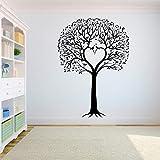 Baum Wandtattoo Aufkleber Schlafzimmer Die Wurzel des Baumes des Lebens ist das Zuhause, in dem Vögel wegfliegen Große Baum Wandaufkleber A4 42X59CM