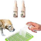 GHJYUK 2 Pcs Dog Potty Training Spray 50Ml Effective Pet Toilet Training Spray Dog Harmless Props Inducer Attract Pet and Train T