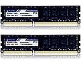 Timetec Hynix IC 16GB Kit (2x8GB) DDR3L 1600MHz PC3-12800 Unbuffered Non-ECC 1.35V CL11 2Rx8 Dual Rank 240 Pin UDIMM Desktop Arbeitsspeicher Module Upgrade (16GB Kit (2x8GB))