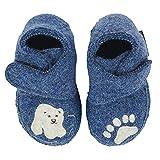 NANGA Baby Baby Schuhe Little Polar Bear blau 22
