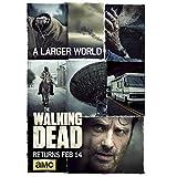 KONGQTE The Walking Dead Staffel 6 (2015) Darsteller: Andrew Lincoln, Drama/Horrorfilm Modetrend Schönes Zuhause Poster Wanddekor Geschenk -20x28 Zoll No Frame