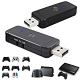 QUMOX USB Gaming Controller Adapter für Nd Switch Pro PS3 PS4 oder PC Xbox One S Wii U